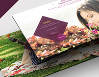 Landing page (on-line training woman - the creator)