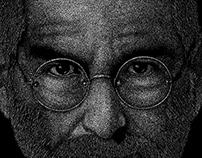 Steve Jobs - Point Art