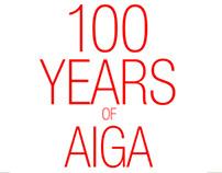 100 YEARS OF AIGA