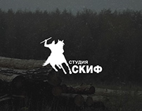 Landing Page for film studio SKIF