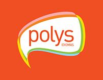 Naming e Identidade Visual - Polys Idiomas