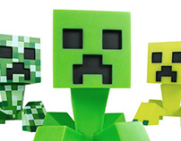Minecraft 6in Vinyl Figures