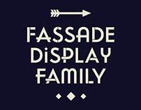 Fassade Display Typeface Family