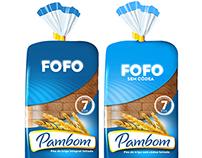 Pambom bread packaging