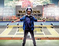 Ravens Football Fan