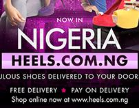 Heels Magazine ad