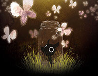"""""""Butterflies"""", Personal Animation 2013"""