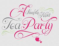 Tea Party Stationary