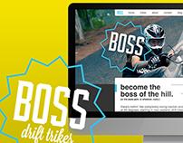 BOSS Drift Trikes - Branding