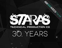 Staras Technical Production Company Website Design