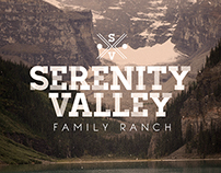 Serenity Valley Family Ranch Logo