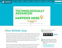 OneTrust Home Loans Website Concept