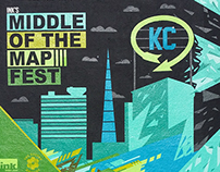 Middle of the Map Fest mural 2015