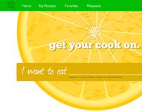 Simple Recipe Webapp