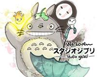 We love Studio Ghibli!