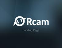Rcam Landing Page