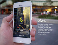 Enhancing UX for Public transportation users (THESIS)