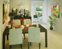 Apartment Interior 3D Visualization
