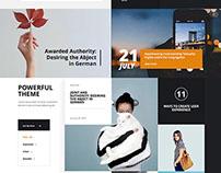 Max Scope Wordpress Business Theme by kozyon