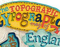 Typographic Map of England