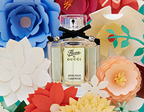 Flora by Gucci | Papercrafted flowers