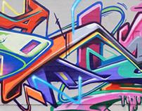 Graffiti Pieces 2D, 3D