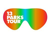 13 PARKS TOUR