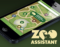 ZOO Assistant (iPhone App Concept)
