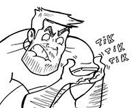 Simple Joe: Cartoon Character