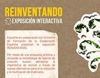 """Exposición """"Reinventando"""""""