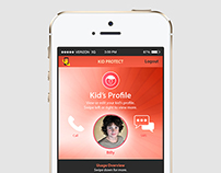 iDi Final Major Project - Parental Control App
