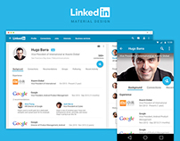 Linkedin Material Design