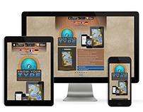 Responsive Website for Mobile App