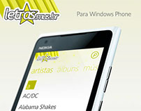 App Letras.mus.br para Windows Phone