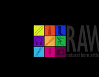 RAW - Natural Born Artists Interview, Promo & Showreel
