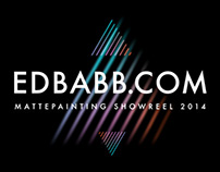 EDBABB.com / Mattepainting Showreel 2014