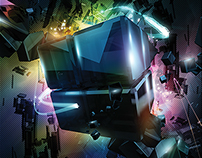 Shards of Ginza Poster (2012)