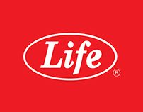 LIFE Corporate Brochure & Recipe Book