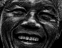 Nelson Mandela - Point Art