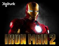 """Digiturk """"Ironman"""" Takeover Richmedia Banner"""
