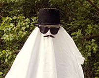 Arthur, the friendly british country ghost
