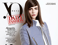 Alba Galocha cover for YoDona