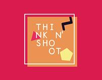 THINK N' SHOOT Brand identity & Web design