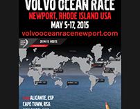 Volvo Ocean Race Banner Stand