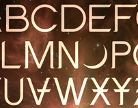 LOVE font for Angels & Airwaves