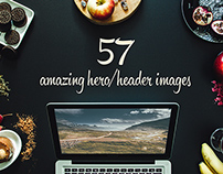 57 Hero/header images vol.2&3