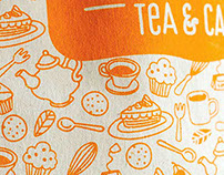 Ginger Tea and Cakes