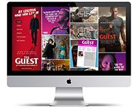 The Guest: Website Concept #1