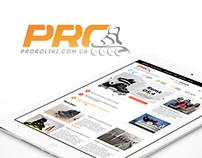 ProRoliki.com.ua Redesign