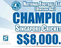 Football Association of Singapore: Event Collaterals